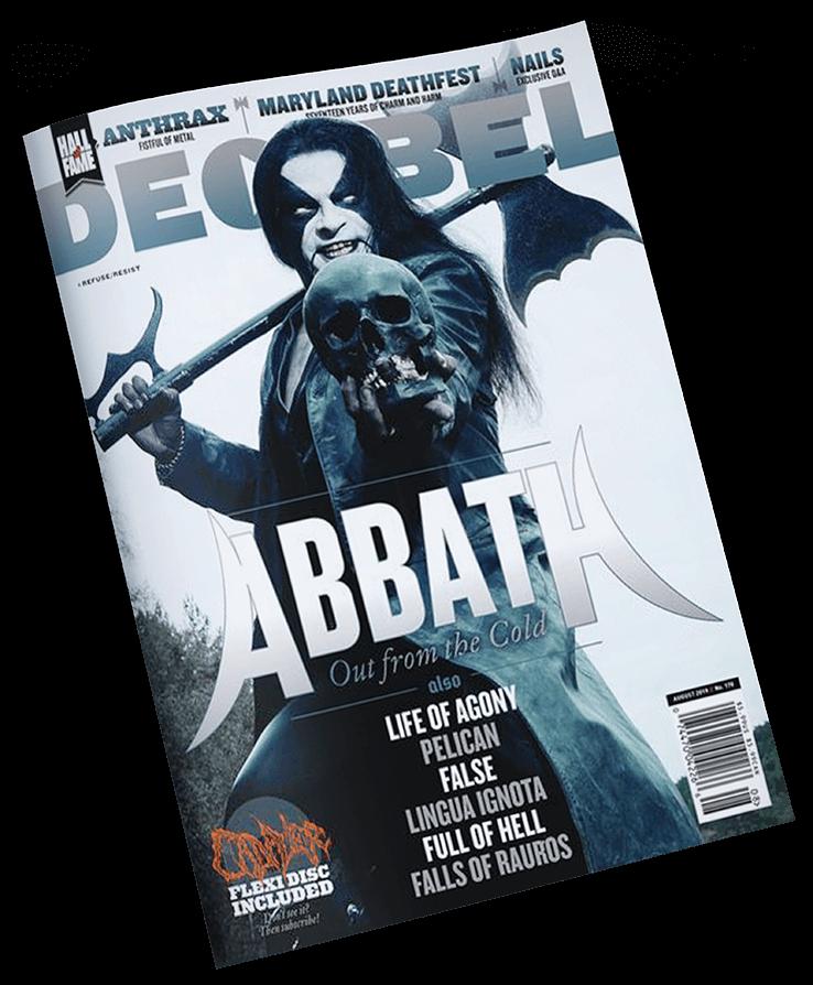 Revista Decibel Abbath