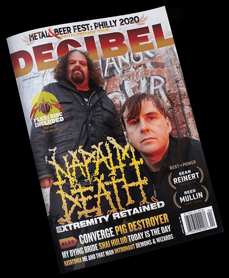 Revista Decibel Napalm Deahth